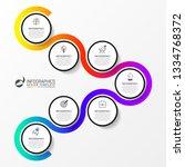 infographic design template....   Shutterstock .eps vector #1334768372