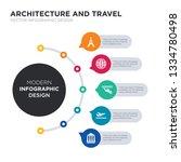 modern business infographic... | Shutterstock .eps vector #1334780498
