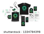 corporate identity of the... | Shutterstock .eps vector #1334784398
