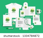 corporate identity of the... | Shutterstock .eps vector #1334784872