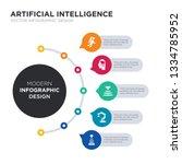 modern business infographic... | Shutterstock .eps vector #1334785952
