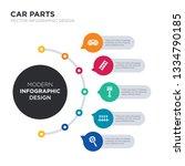 modern business infographic... | Shutterstock .eps vector #1334790185