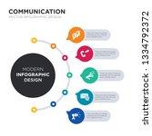 modern business infographic... | Shutterstock .eps vector #1334792372