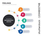 modern business infographic... | Shutterstock .eps vector #1334803748