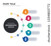 modern business infographic...   Shutterstock .eps vector #1334803772