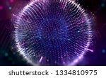 hud element. abstract... | Shutterstock . vector #1334810975