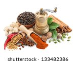 composition with different... | Shutterstock . vector #133482386