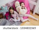 Cute Little Sisters Playing...