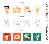 vector illustration of hospital ...   Shutterstock .eps vector #1334885165