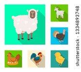 vector design of breeding and...   Shutterstock .eps vector #1334893748