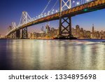 classic panoramic view of... | Shutterstock . vector #1334895698