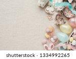 easter egg and bunny for kids...   Shutterstock . vector #1334992265