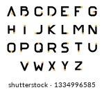 font logo. modern design vector ...   Shutterstock .eps vector #1334996585