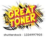 great toner   vector... | Shutterstock .eps vector #1334997905