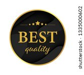 best quality label banner tag... | Shutterstock .eps vector #1335000602