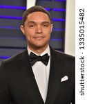 Small photo of LOS ANGELES - FEB 24: Trevor Noah arrives for the Vanity Fair Oscar Party on February 24, 2019 in Beverly Hills, CA
