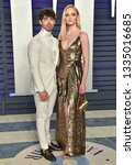 Small photo of LOS ANGELES - FEB 24: Joe Jonas and Sophie Turner arrives for the Vanity Fair Oscar Party on February 24, 2019 in Beverly Hills, CA