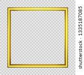 Square Frame.illustration Of A...