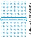 construction vector icon set | Shutterstock .eps vector #1335189815