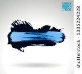 blue brush stroke and texture....   Shutterstock .eps vector #1335224228