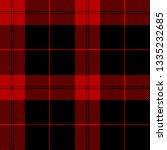 Black And Red Tartan Plaid...