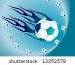 fire ball   Shutterstock .eps vector #13352578