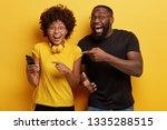 hey  have look at screen of... | Shutterstock . vector #1335288515