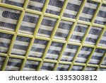 protective grille for... | Shutterstock . vector #1335303812