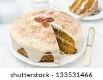Carrots And Pumpkin Cake With...