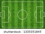 football field or soccer field... | Shutterstock . vector #1335351845