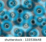 beautiful modern abstract daisy ...   Shutterstock . vector #133538648