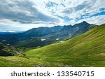 tatra mountain  poland  view to ...   Shutterstock . vector #133540715