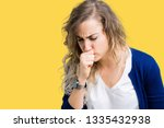 beautiful young blonde woman...   Shutterstock . vector #1335432938