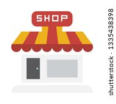 shop store icon  storefront or... | Shutterstock .eps vector #1335438398
