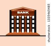 financial institution... | Shutterstock .eps vector #1335465485