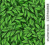 laurel seamless background | Shutterstock . vector #1335466868