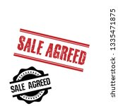 stamp with text sale agreed...   Shutterstock .eps vector #1335471875