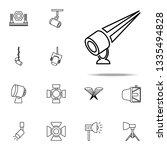 outdoor floodlight icon.... | Shutterstock .eps vector #1335494828