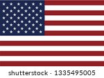 flag of the united states vector | Shutterstock .eps vector #1335495005