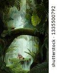 Inside A Deep Mystical Jungle...