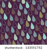 abstract graphic seamless... | Shutterstock .eps vector #133551752