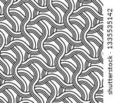 design seamless monochrome... | Shutterstock .eps vector #1335535142