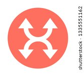 simple arrow sign icon | Shutterstock .eps vector #1335551162