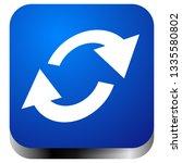 swap  flip icon. circular  oval ... | Shutterstock .eps vector #1335580802