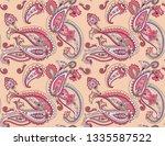 vector seamless graphical...   Shutterstock .eps vector #1335587522
