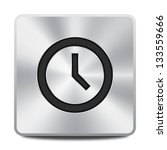 clock icon button | Shutterstock .eps vector #133559666
