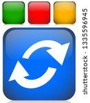 swap  flip icon. circular  oval ... | Shutterstock .eps vector #1335596945