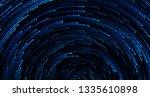 Blue Circular Sparkling...