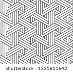 abstract geometric pattern with ... | Shutterstock . vector #1335611642