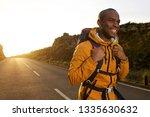 portrait of happy young african ...   Shutterstock . vector #1335630632